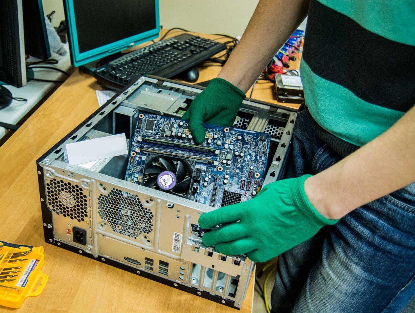 Ремонт и диагностика компьютера на дому